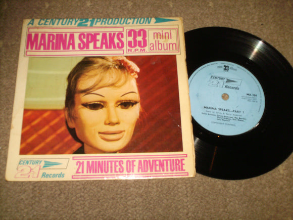 Sylvia & Gerry Anderson - Marina Speaks