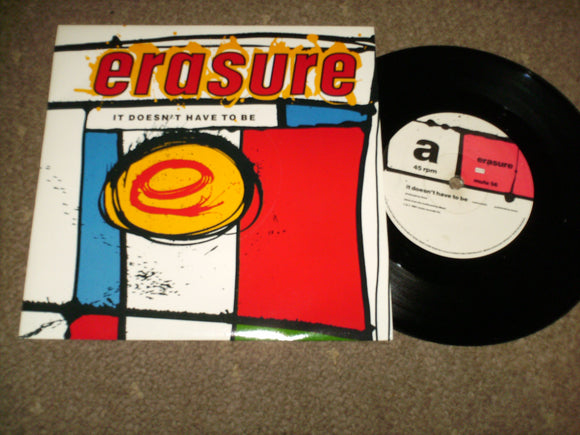 Erasure - It Dosen't Have To Be