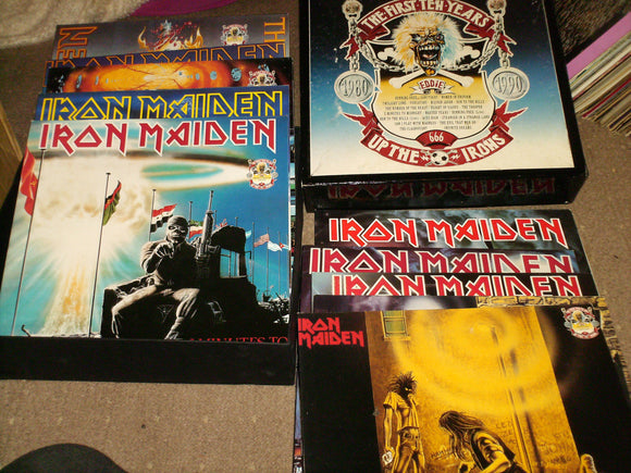 Iron Maiden - The First Ten Years - Up The Irons