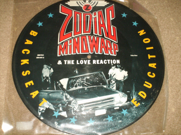 Zodiac Mindwarp & The Love Reaction - Backseat Education