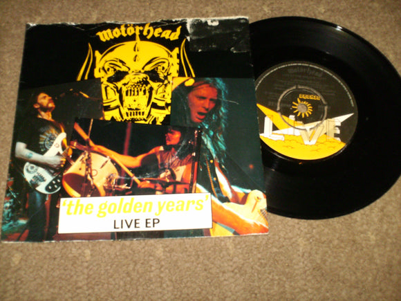 Motorhead - The Golden Years Live EP