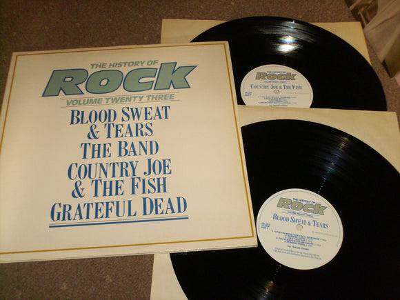 Blood Sweat & Tears The Band Etc - The History Of Rock Volume 23