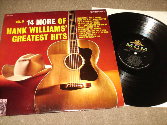 Hank Williams - 14 More Of Hank Williams Greatest Hits Vol II