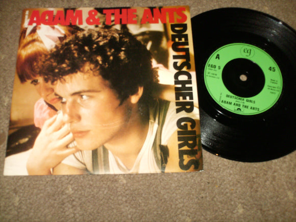 Adam And The Ants - Deutscher Girls