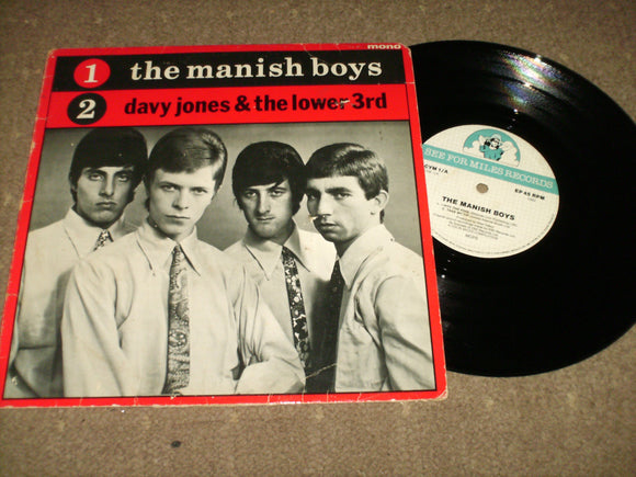 David Bowie - The Manish Boys/ Davy Jones & The Lower Third