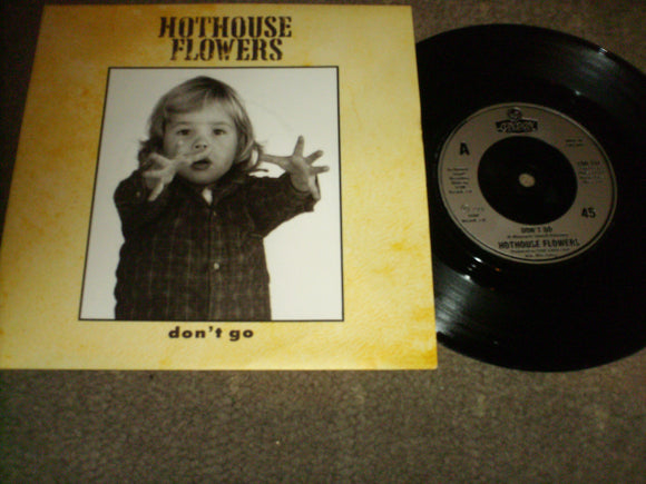 Hothouse Flowers - Dont Go