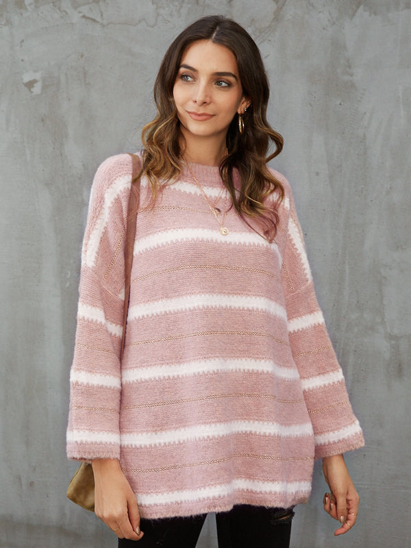 Langarm Normaler Pullover