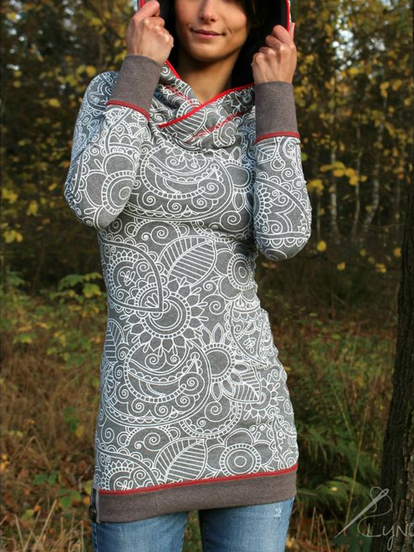 Black Friday Langarm Print Sweatshirt