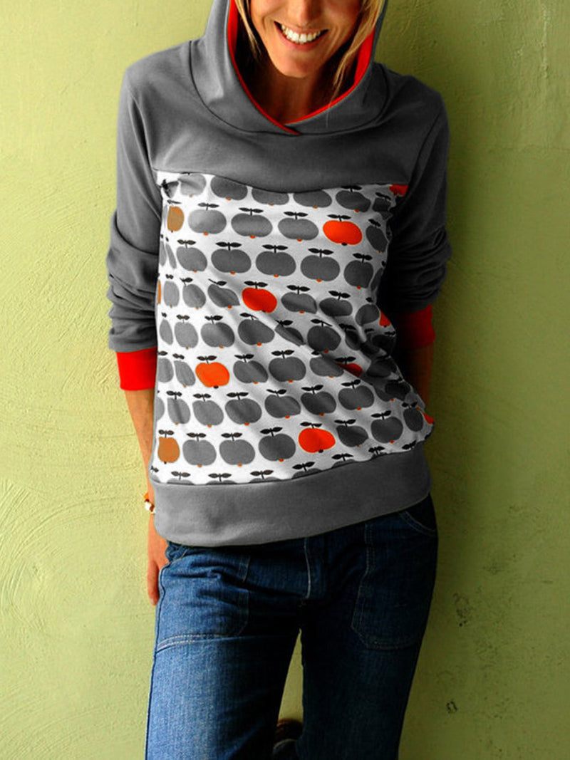 Normal Kapuze Langarm Baumwollgemisch Mantel Black Friday