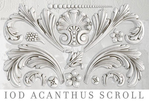 ACANTHUS SCROLL | IOD DECOR MOULDS™