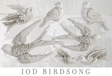 BIRDSONG | IOD DECOR MOULDS™