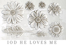 Load image into Gallery viewer, HE LOVES ME | IOD DECOR MOULDS™