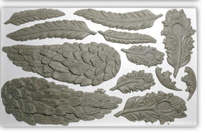 Wings and Feathers | IOD DECOR MOULDS™