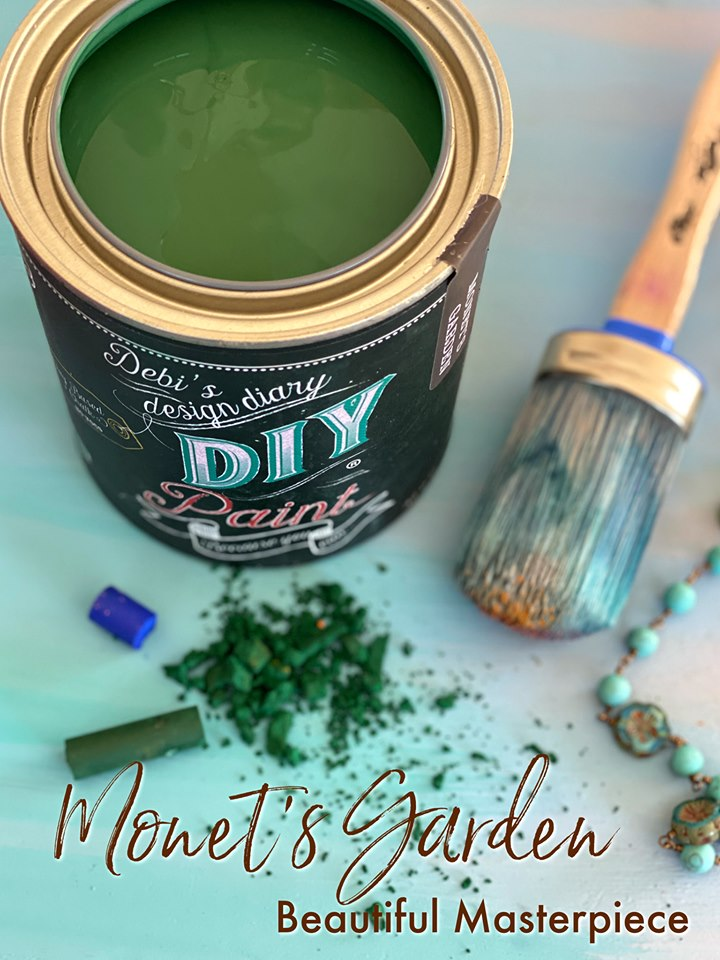 Monet's Garden | DIY Paint