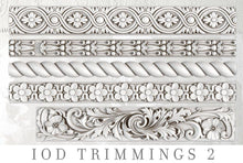 Load image into Gallery viewer, TRIMMINGS 2 | IOD DECOR MOULDS™