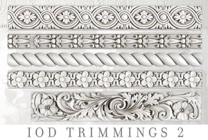 TRIMMINGS 2 | IOD DECOR MOULDS™