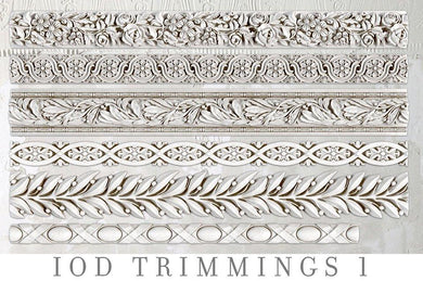TRIMMINGS 1 | IOD DECOR MOULDS™