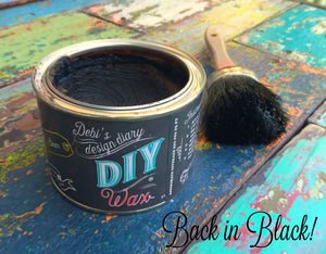 WAX Black  | DIY Finish