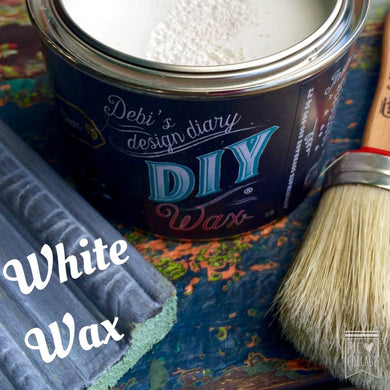 WAX White | DIY Finish