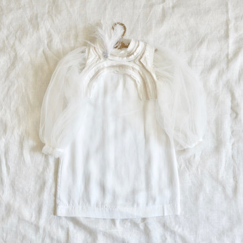 Ava Dress Milk White