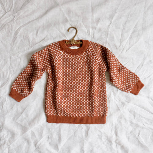Meomi Folk Knit Sweater