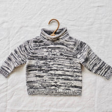 Load image into Gallery viewer, Alpaca Mock Neck Charcoal