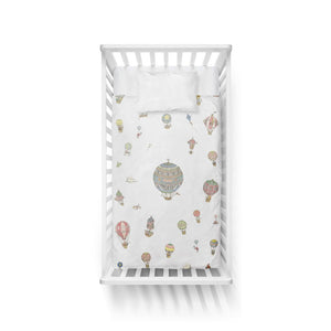 Fitted Sheet Hot Air Balloons