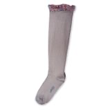 Elisabeth - Liberty Ruffle Knee-High Socks