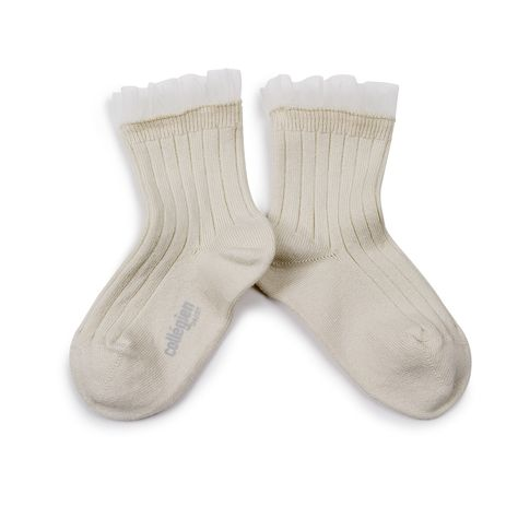 Margaux - Tulle Ankle Socks