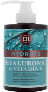 Hydrating Hyaluronic & Vitamin E 15oz