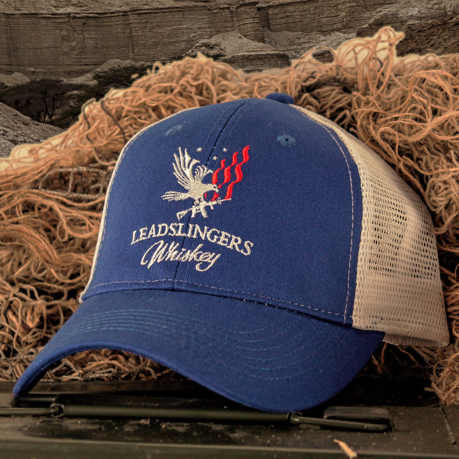 Leadslingers Whiskey Logo Hat