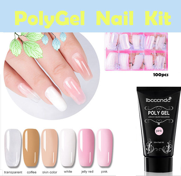 21de40cc8c107 PolyGel Nail Kit (BUY 3 SET GET FREE SHIPPING)