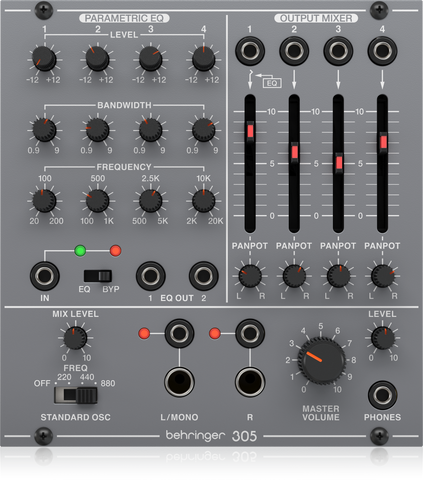 305 EQ/MIXER/OUTPUT