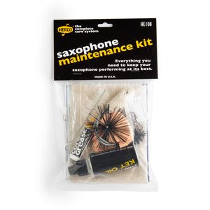 HERCO SAXOPHONE CARE KITS