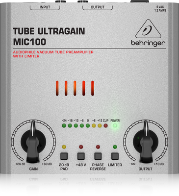 TUBE ULTRAGAIN MIC100