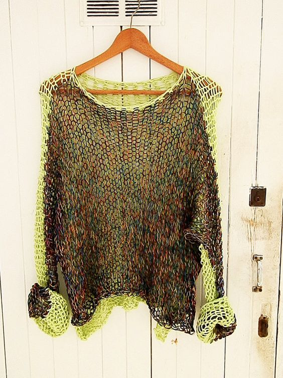 Multicolor Long Sleeve Knitted Shirts & Tops