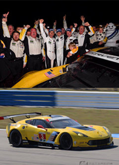 2017 IMSA 12 Hours of Sebring Winners equipped with Braille Lithium Batteries