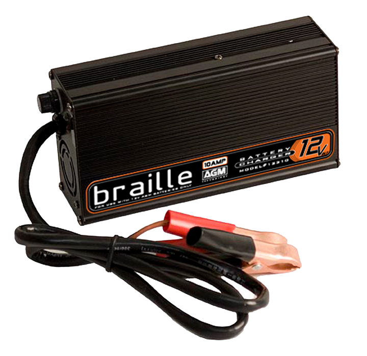 12310 - Braille 12 volt 10 amp AGM charger