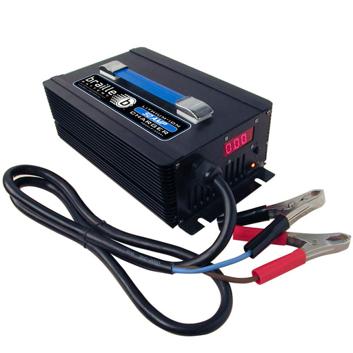 12350L - Braille 12 volt 50 amp lithium rapid charger