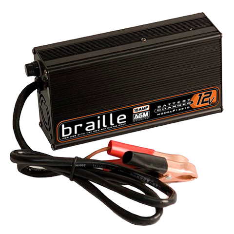 1236 - Braille 12 volt 6 amp AGM charger