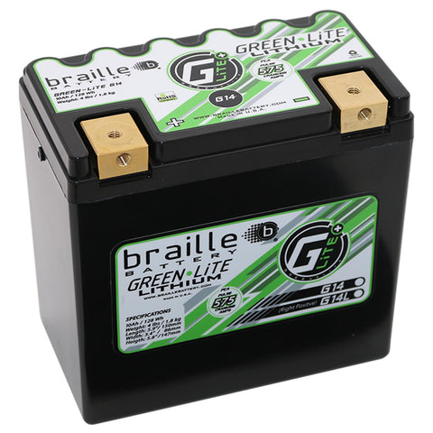 G14 - GreenLite Powersports Lithium Battery