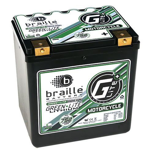 G30H - GreenLite (Harley/Motorcycle Spec) Lithium Battery