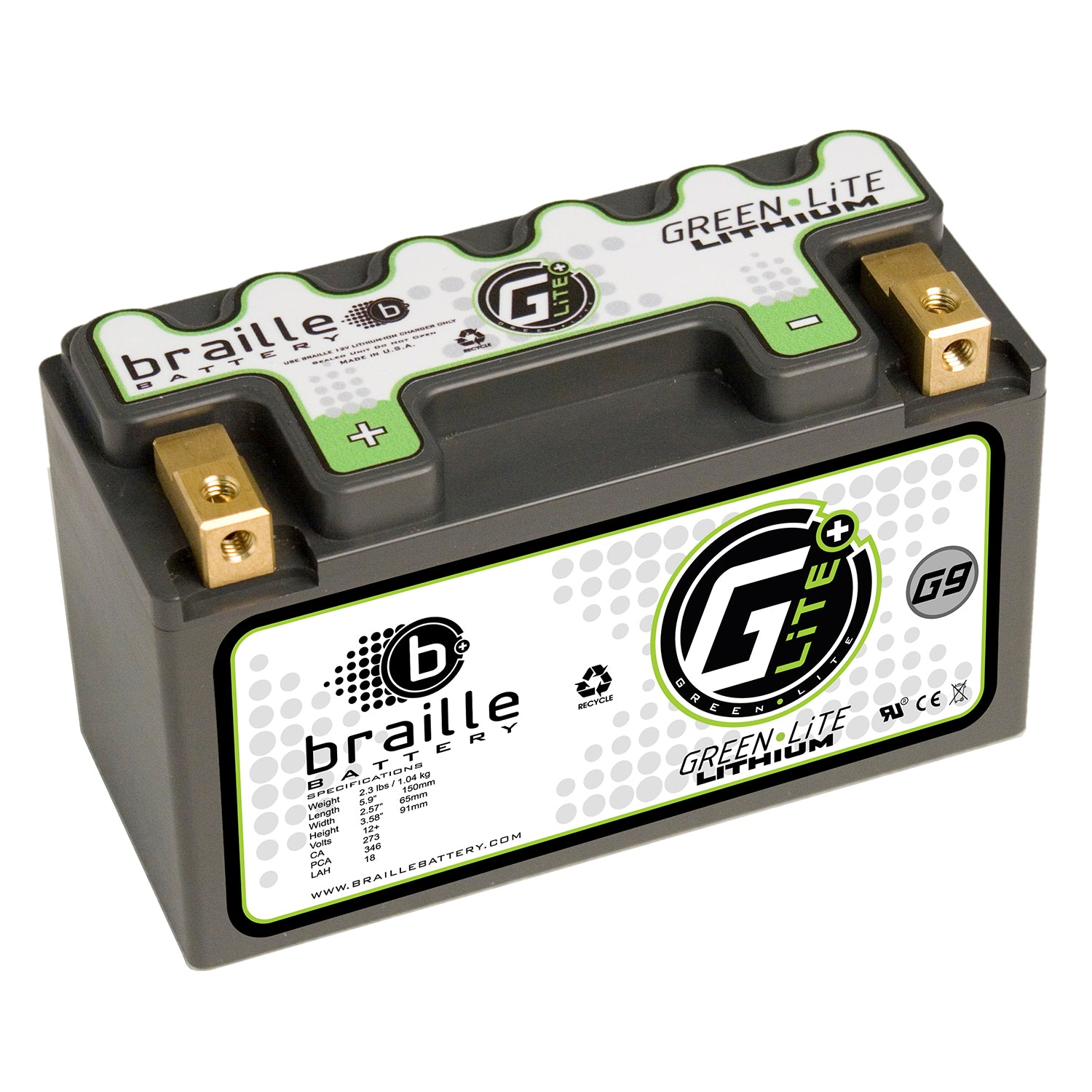G9L - GreenLite lithium battery