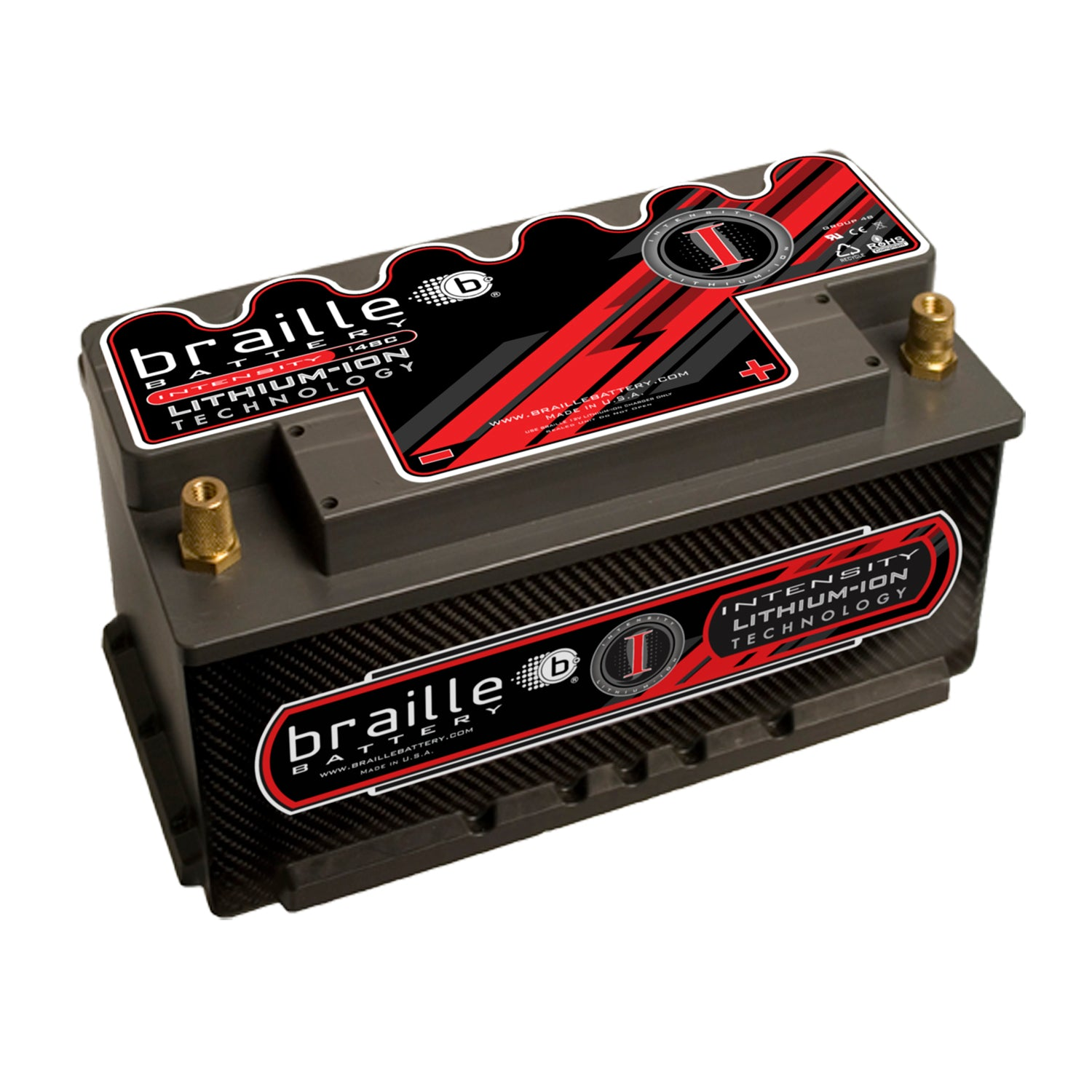 i48CE - Intensity Carbon Group 48 (low profile) lithium battery