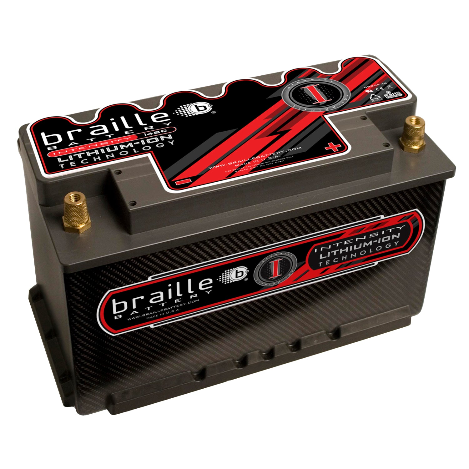 i48CS - Intensity Carbon Group 48 (MAX power & capacity) lithium battery