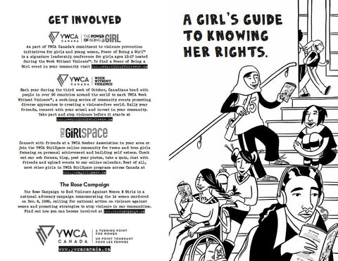 YWCA Zine: A Girl's Guide to Knowing Her Rights — 10-Copy Bundle