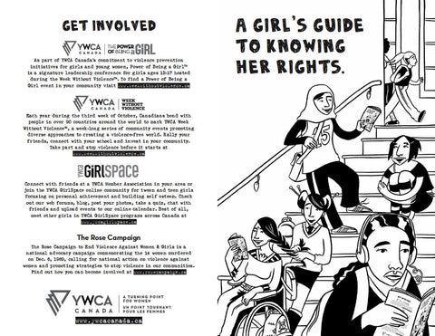 YWCA Zine: A Girl's Guide to Knowing Her Rights — Single Copy