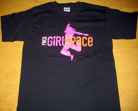 YWCA GirlSpace T-Shirts - Fitted