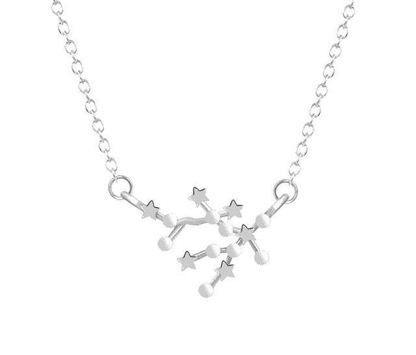 Constellation Stars Zodiac Sign Necklace unique jewelry design GemCreature