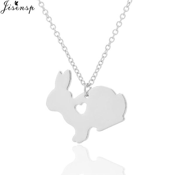 Stainless Steel Rabbit Earrings and Necklace